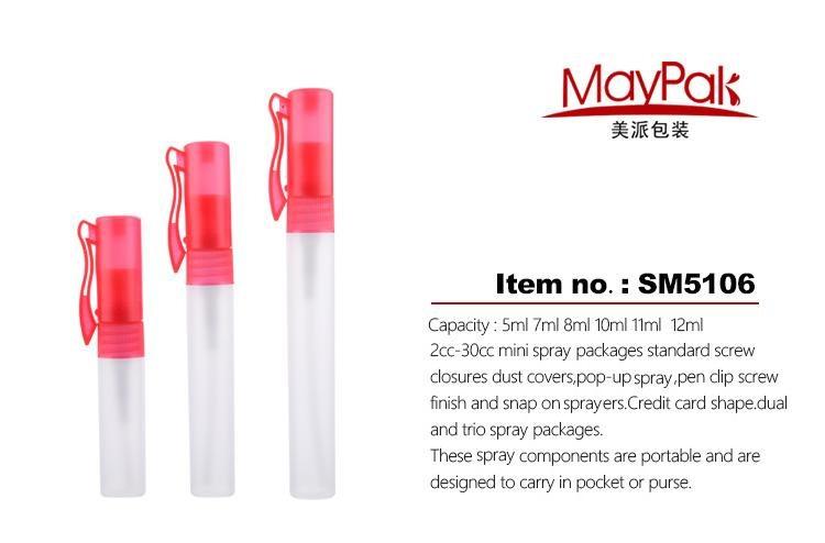 Mini sprayer bottle plastic perfume pen factory