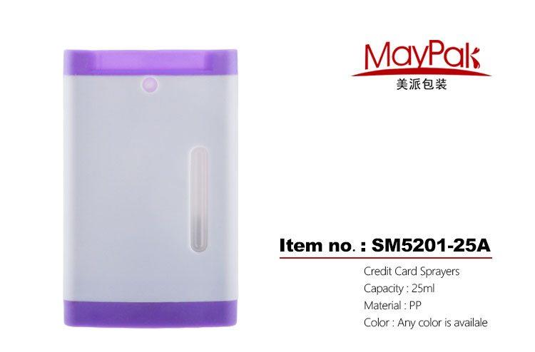 25ml credit card sprayers pocketable