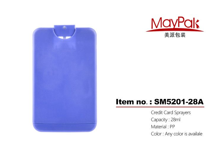 28ml credit card sprayers pocketable