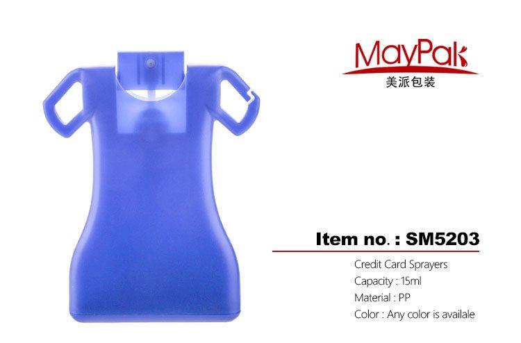 15ml portable credit card sprayers factory