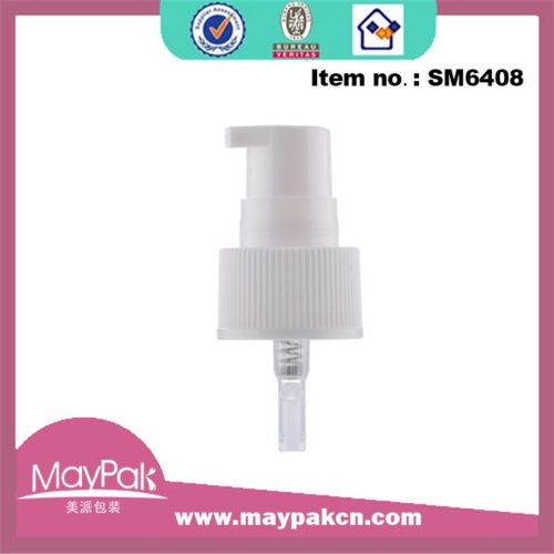 custom color cosmetic pp treatment pump