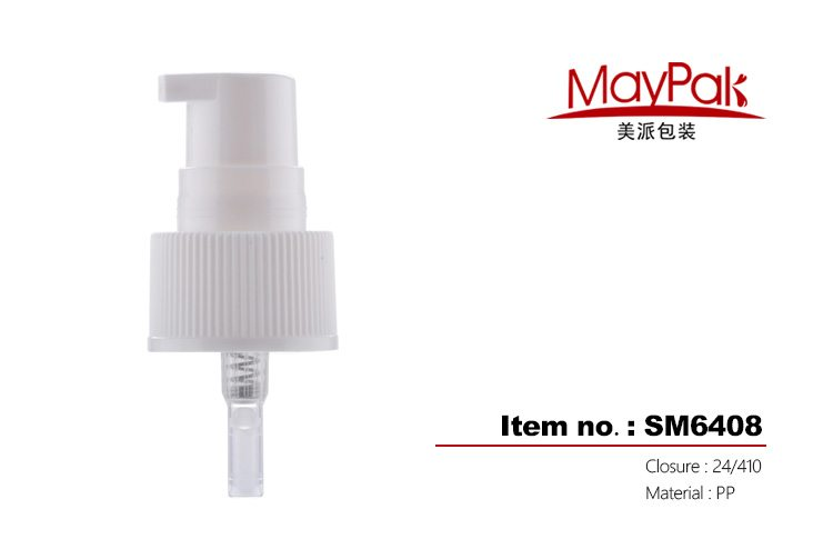custom color cosmetic pp treatment pump