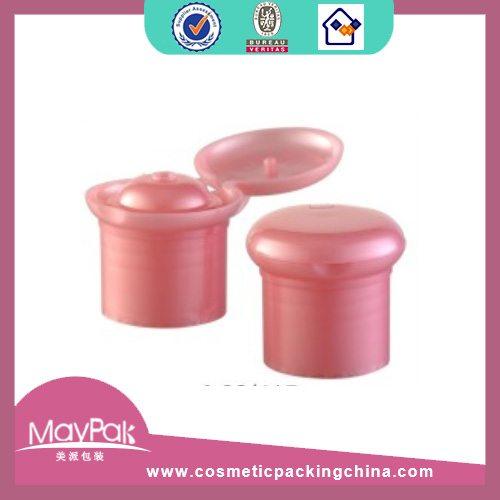 cosmetic flip top cap