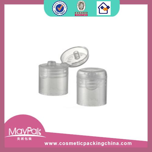 cosmetic bottle transparent cap