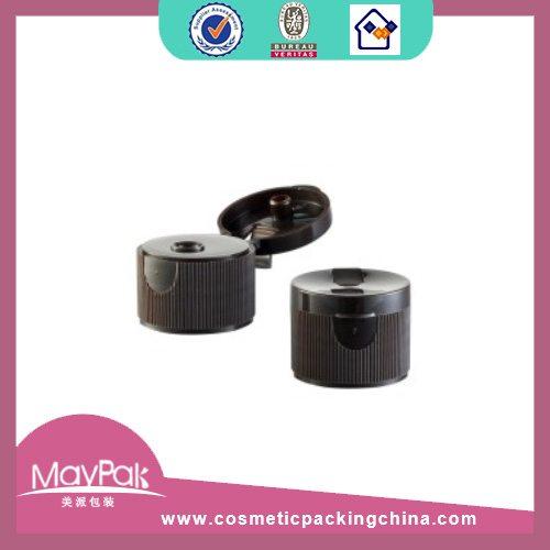 Black Plastic sport bottle cap