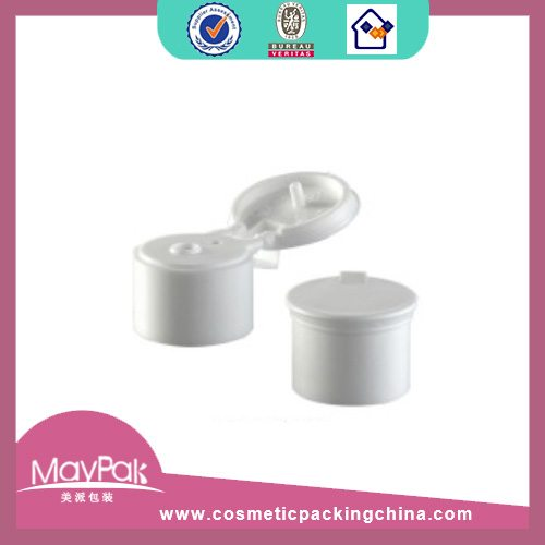 white cosmetic bottle cap