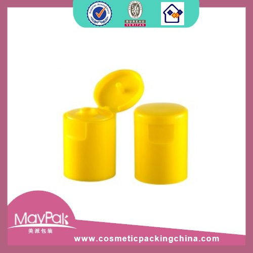 Plastic yellow cap