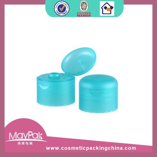 Plastic blue bottle cap