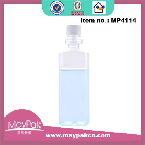 350ml PET mouth wash bottle