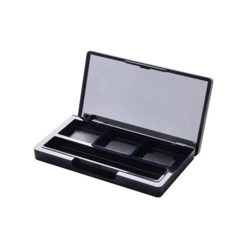 empty 3 pan eye shadow compact