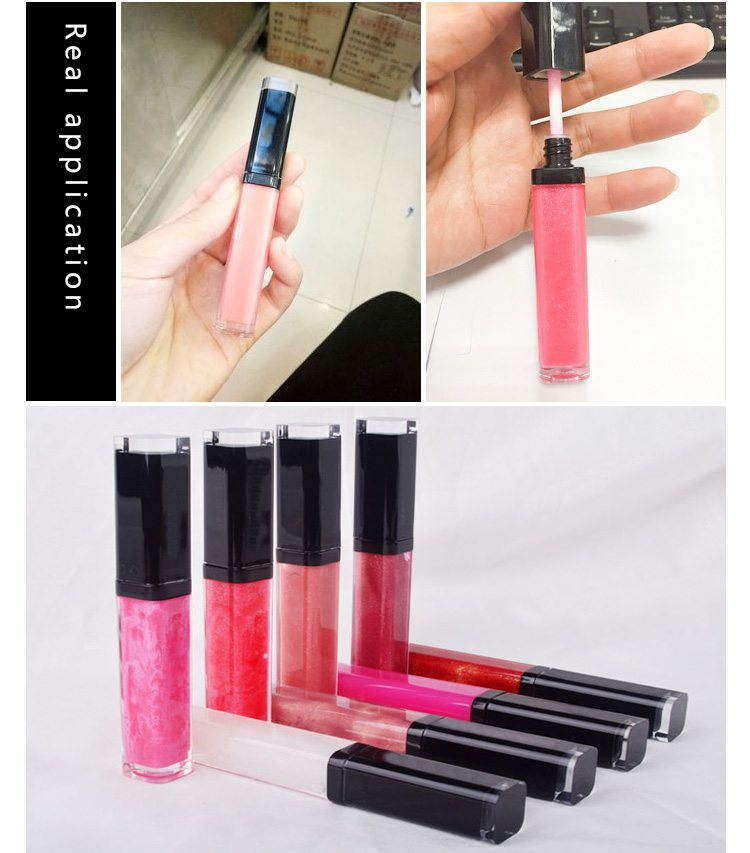 wholesale clear empty lipgloss case