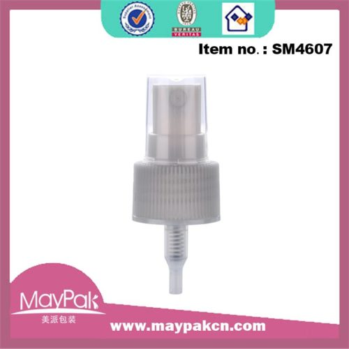 Plastic mist sprayer oil pump