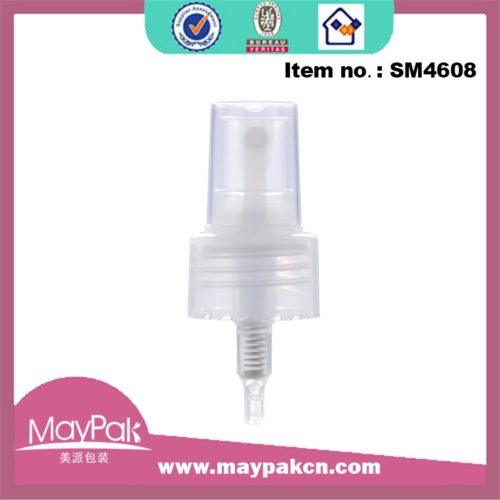 Plastic mist sprayer gel pump