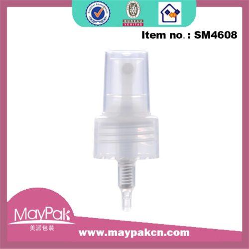 Plastic mist sprayer gel pump