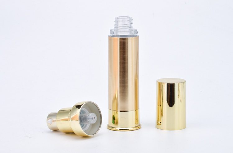 airless spray bottle with pump