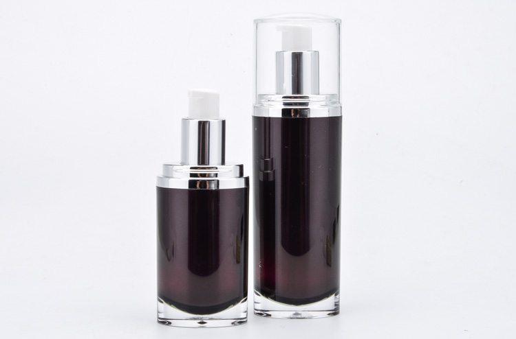 acrylic body lotion bottle and jar