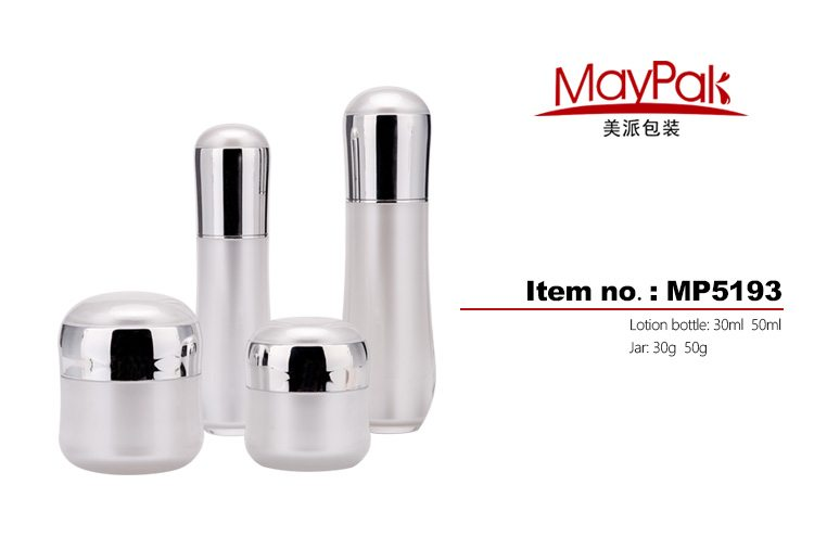 UV cosmetic bottles and jars