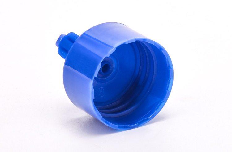White plastic screw cap
