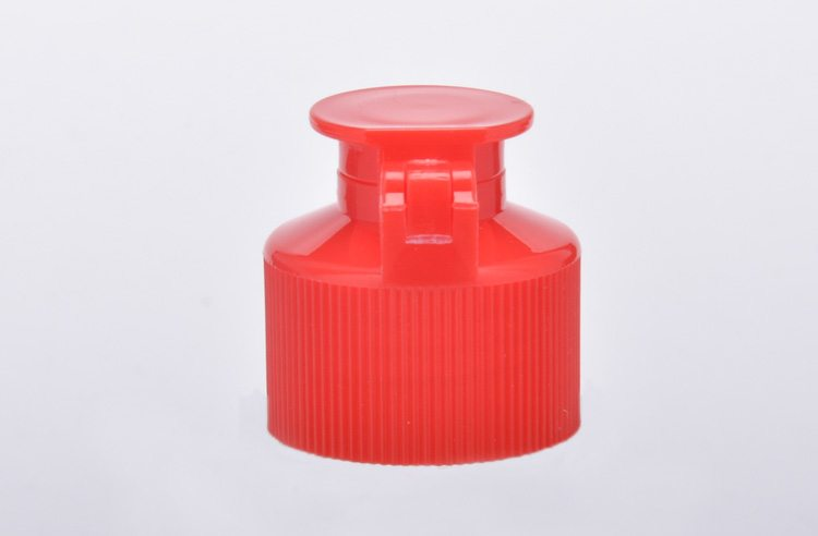 Black Ribbed plastic lid