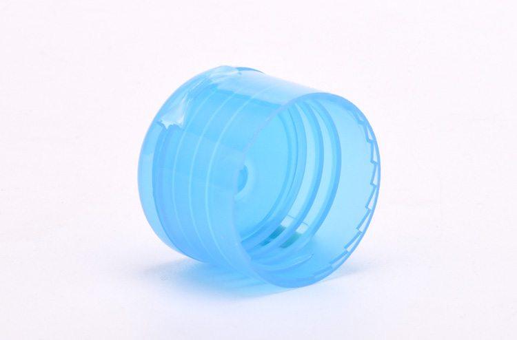 Smooth plastic bottle cap