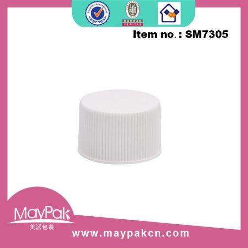 Ribbed transparent screw cap