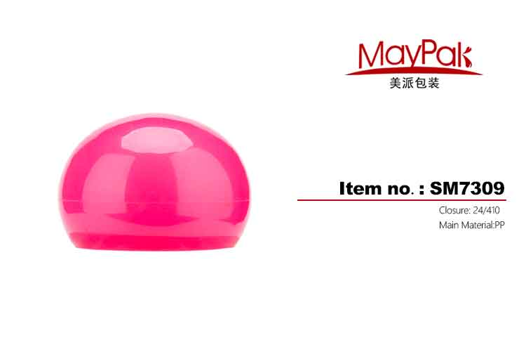 Plastic round screw cap