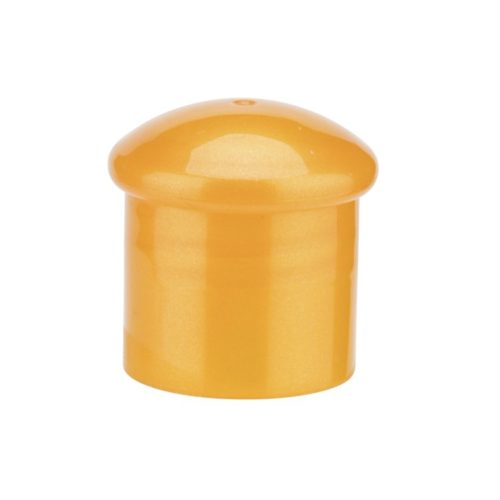 Blue round bottle cap
