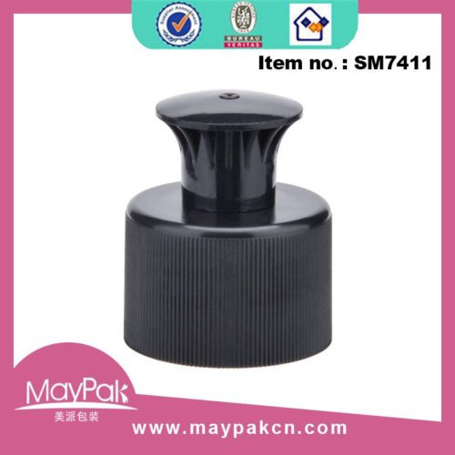 Shampoo Black Bottle Push Cap