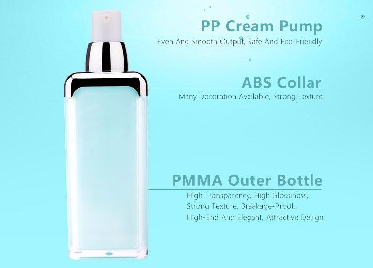 Hot Sales elegant acrylic lotion bottle