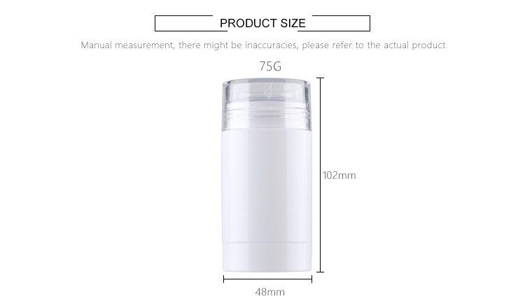 PP round deodorant stick