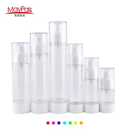 100ml 120ml cosmetic plastic airless bottle