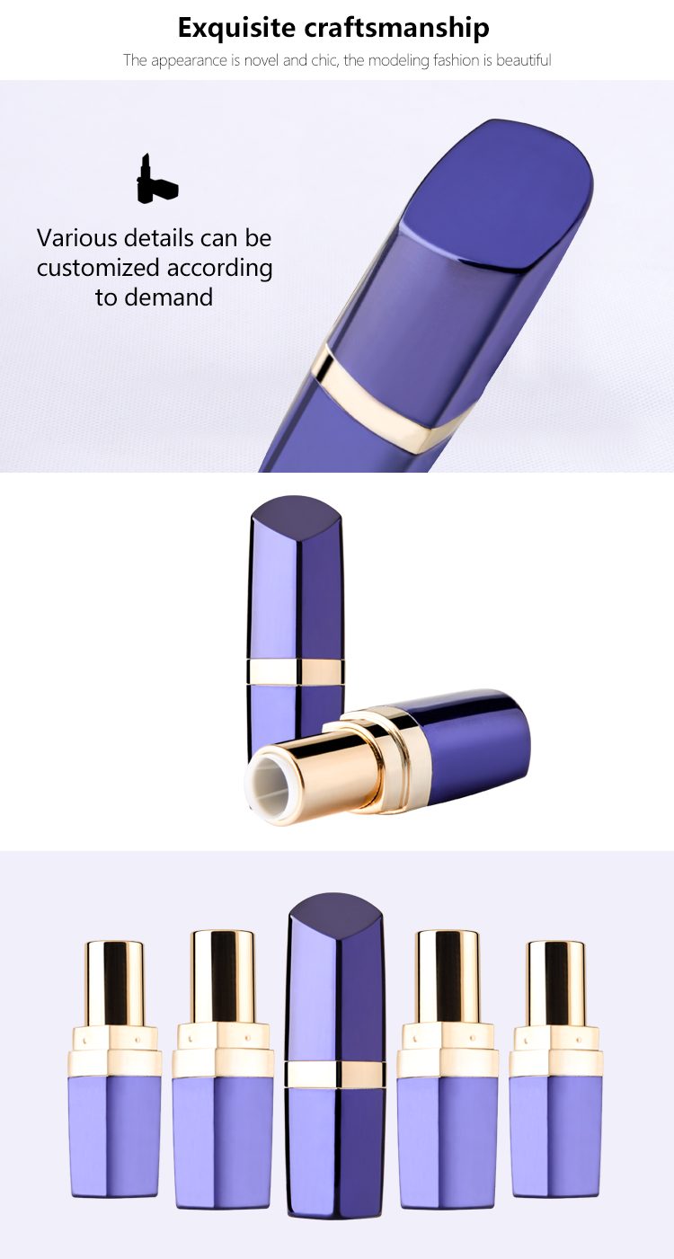 Plastic Lipstick Tube Packaging
