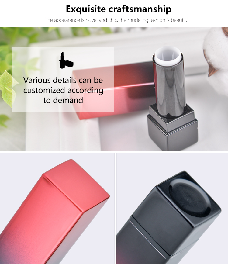 Cosmetic packaging OEM plastic lipstick case