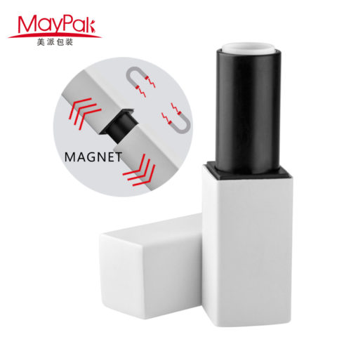 Manufacturer Supply magnetic plastic lipstick tube