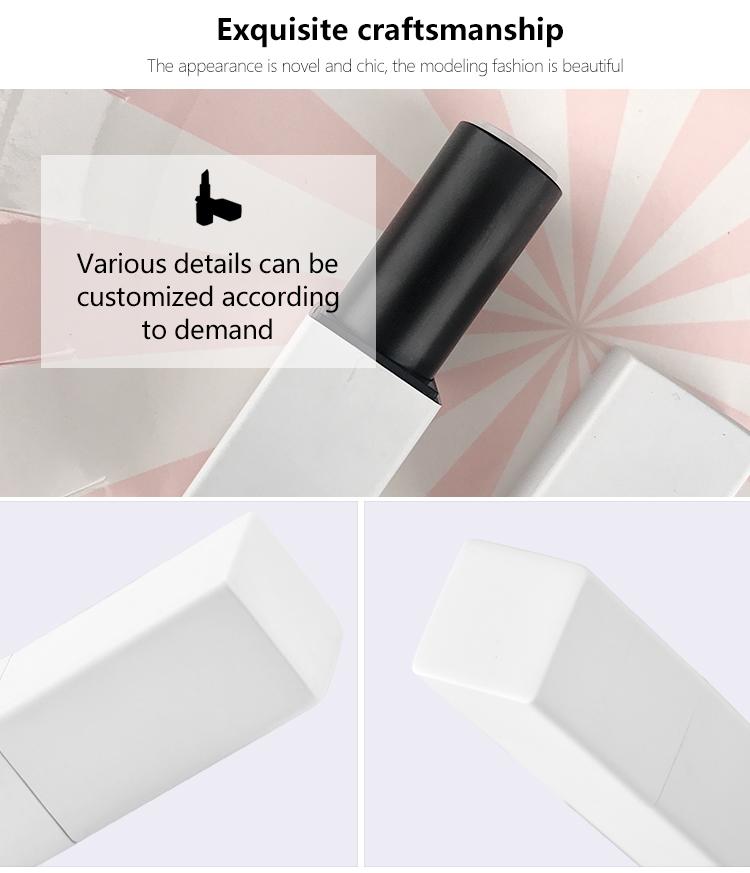 Manufacturer Supply magnetic plastic lipstick tube