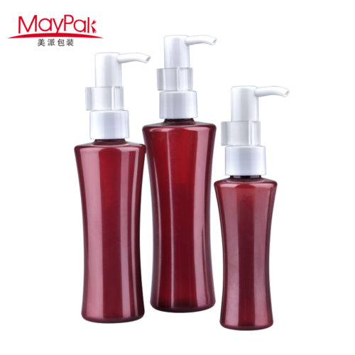 plastic lotion pump PET plastic bottle