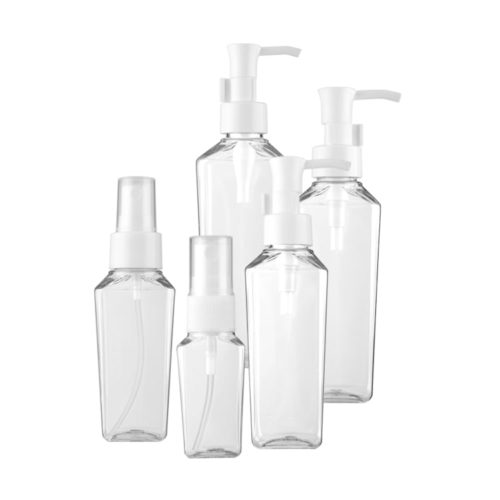 200ml 250ml PET plastic bottle