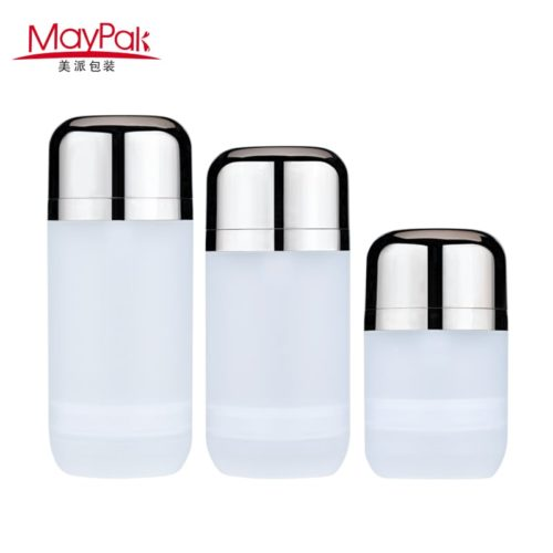 pp plastic oval airless pump bottle