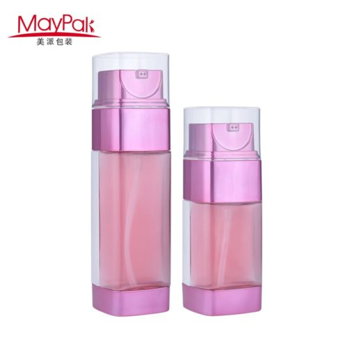 plastic double wall serum bottle