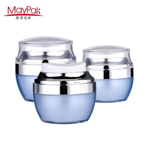 airless cream pump jar