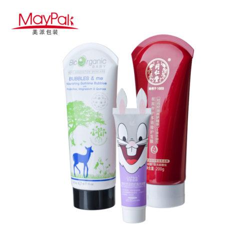 cream packaging cosmetic plastic tube
