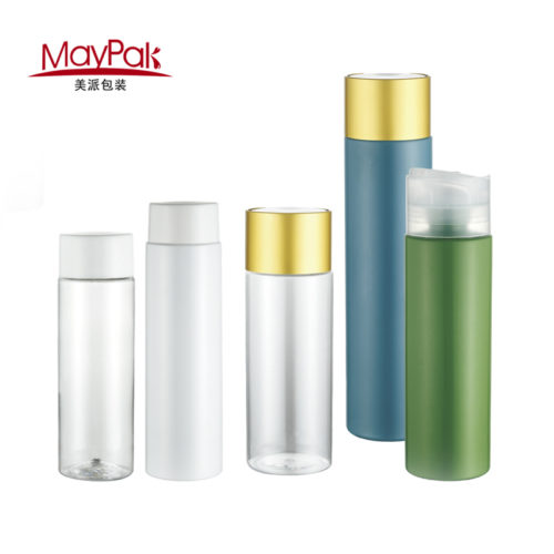 PET cosmetic shampoo plastic bottle