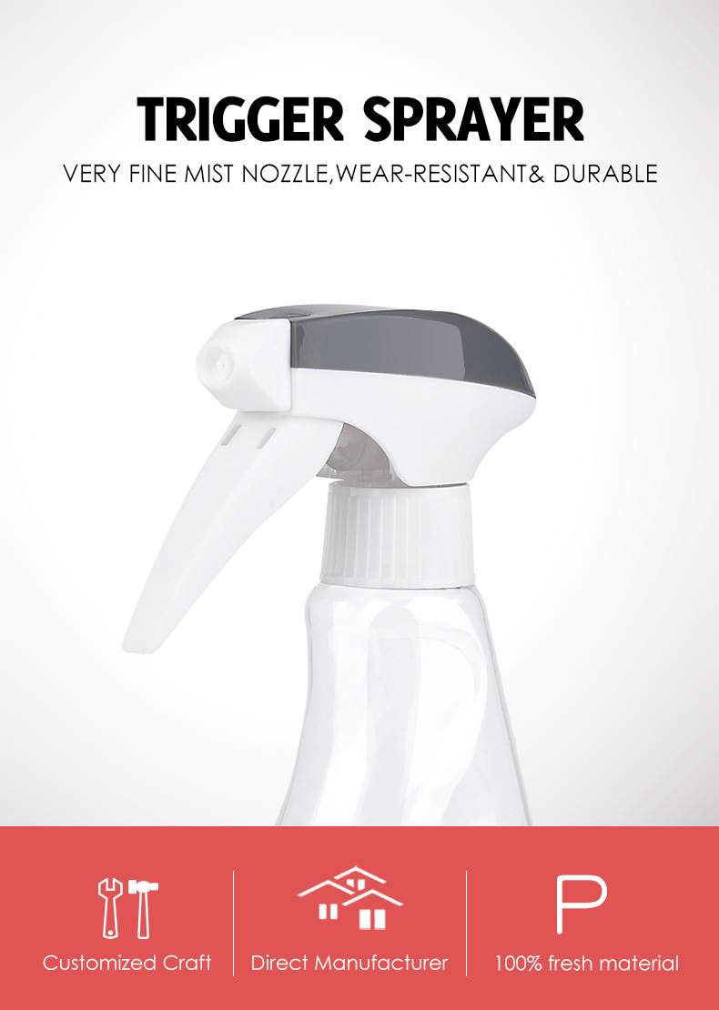 Customized Plastic Clean Trigger Sprayer