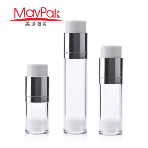 15ml 30ml 50ml serum airless bottle