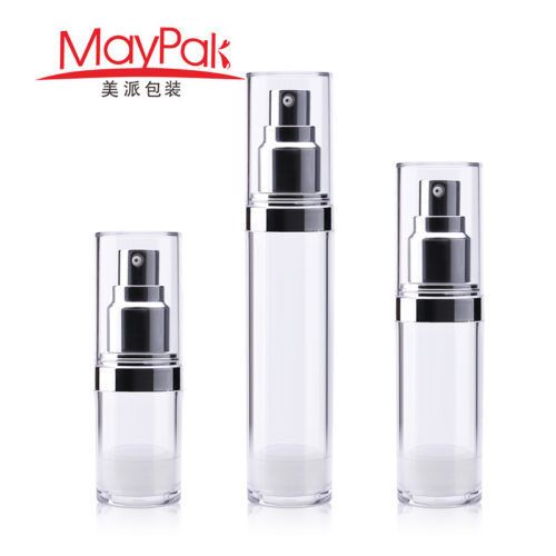 15ml 30ml 50ml airless cosmetic bottle