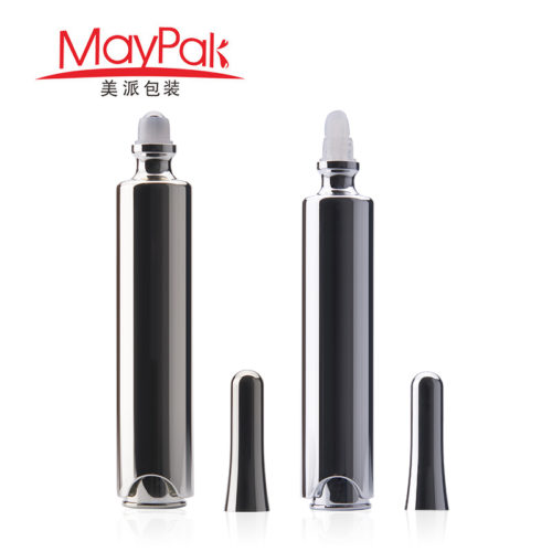 plastic airless eye cream bottle