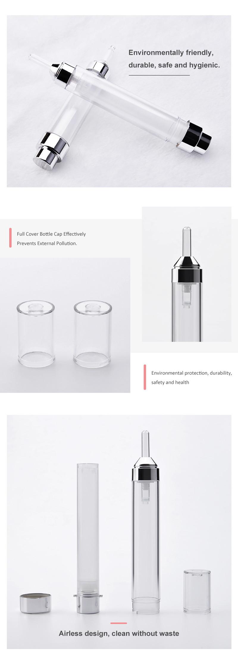 10ml 15m eye cream airless bottle