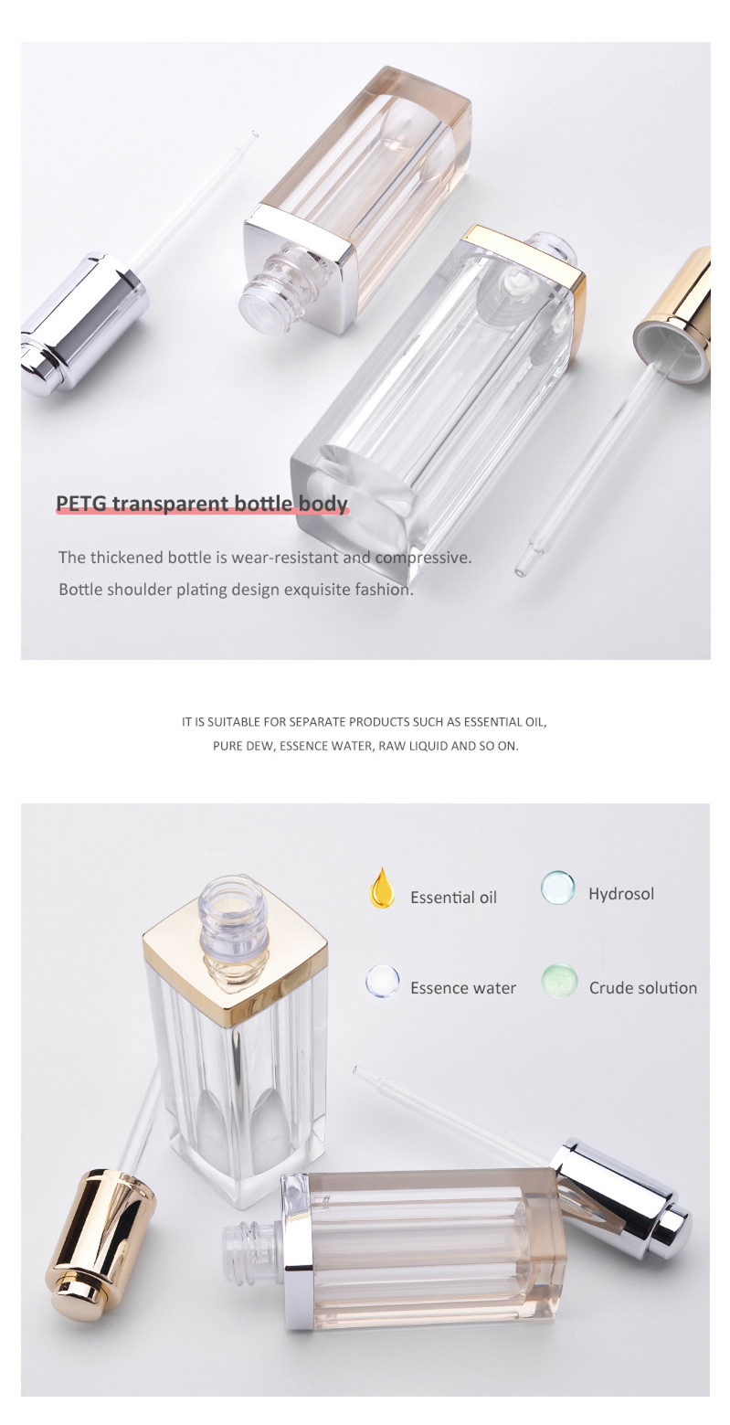 PETG 30ml 50ml essential oil bottle
