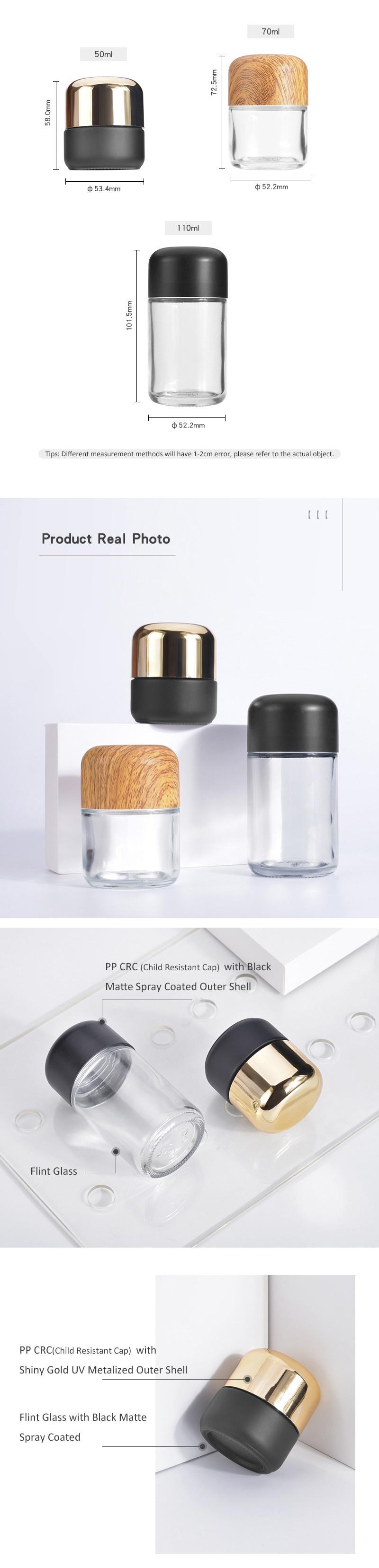Glass CBD HEMP Bottle