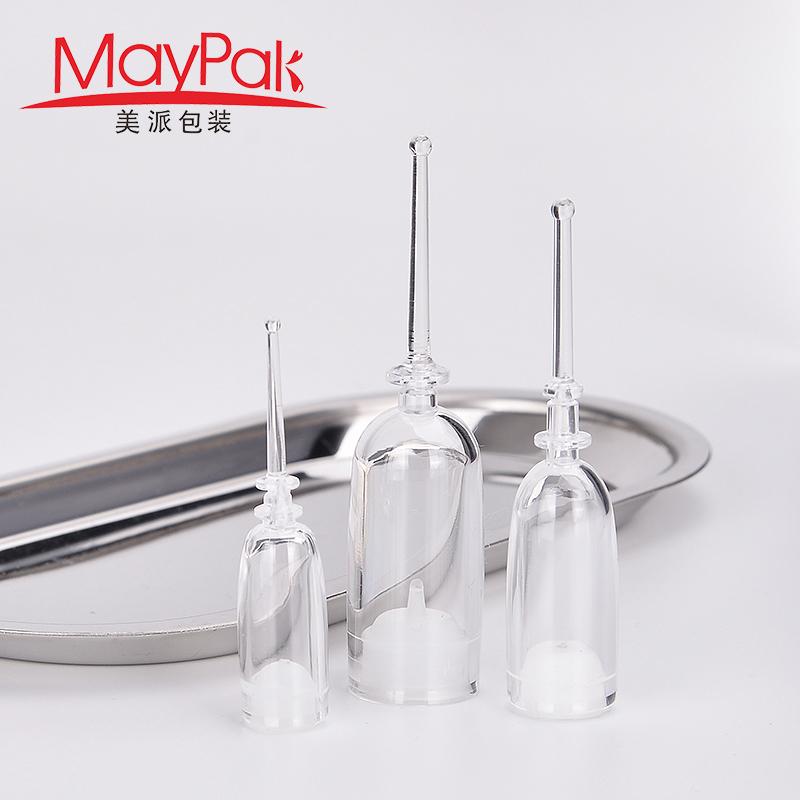 cosmetic syringe ampoule bottle